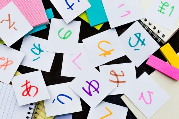 how to read Japanese - hiragana flashcards