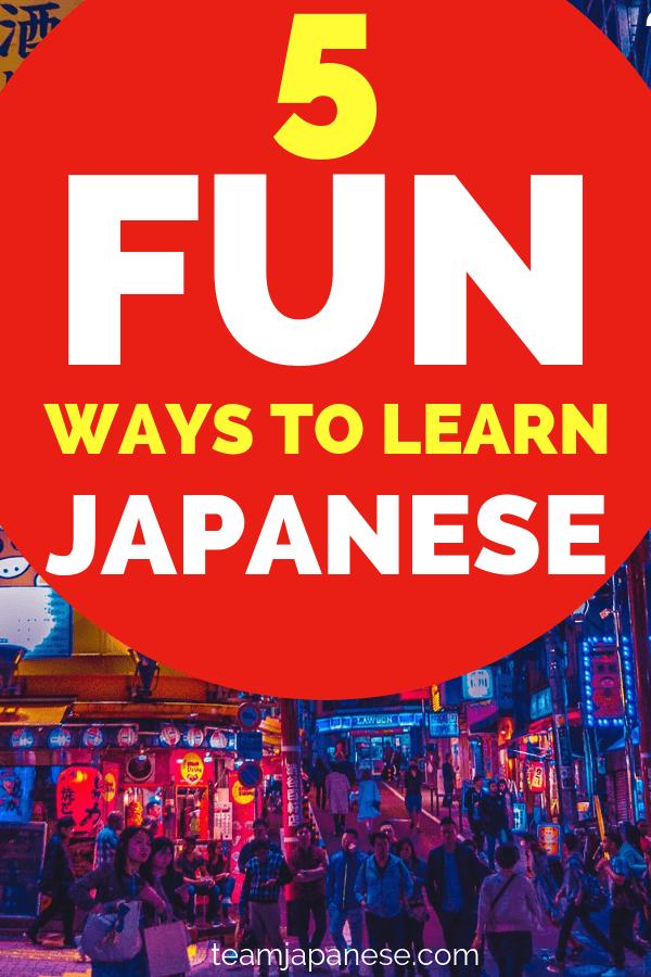 fun ways to learn japanese