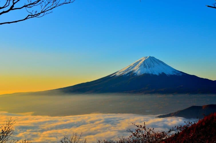 Mount Fuji (Fuji-san), Japan's highest mountain