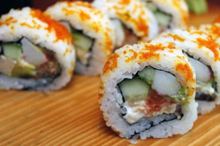 Sushi - just one of many Japanese loan words used in English!