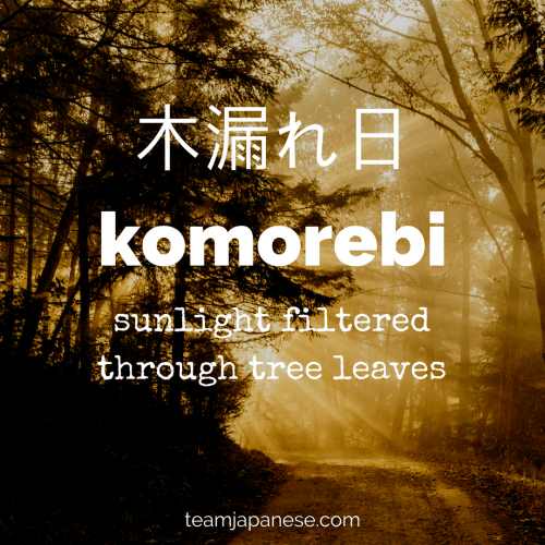 japanese word for lover