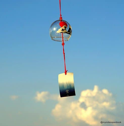 fuurin - a Japanese wind chime used in summer. For more essential Japanese summer words, head to Team Japanese!