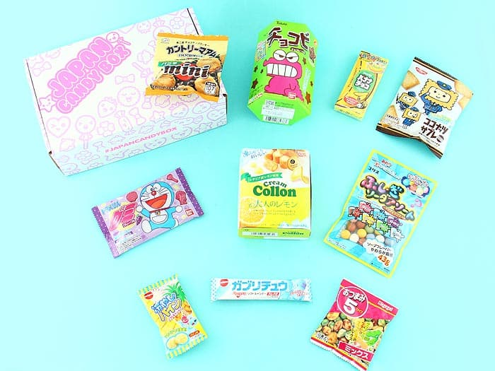 japan candy subscription box gift