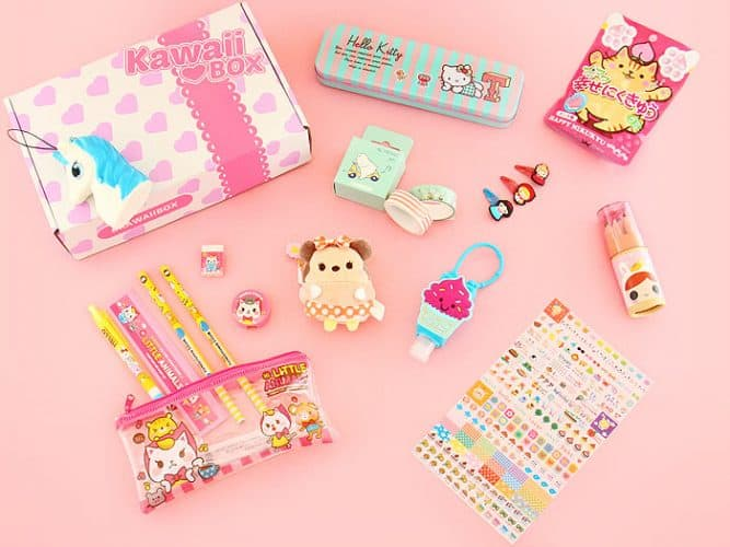 kawaii subscription box gift