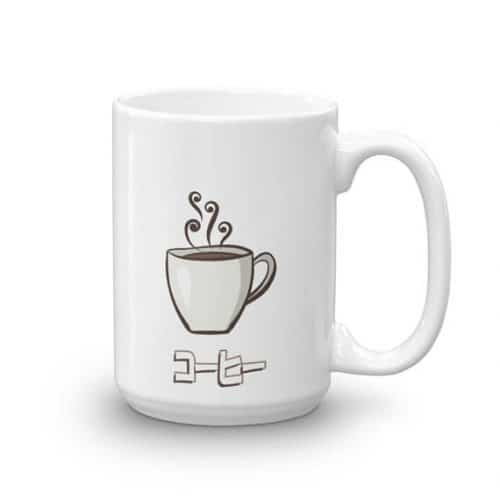 japanese coffee mug gift
