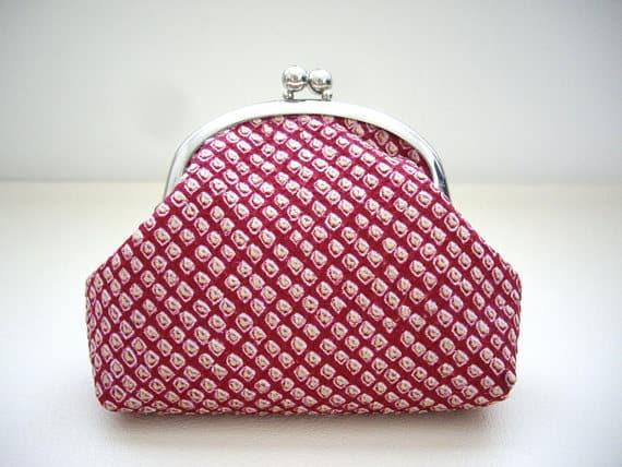kimono purse gift idea