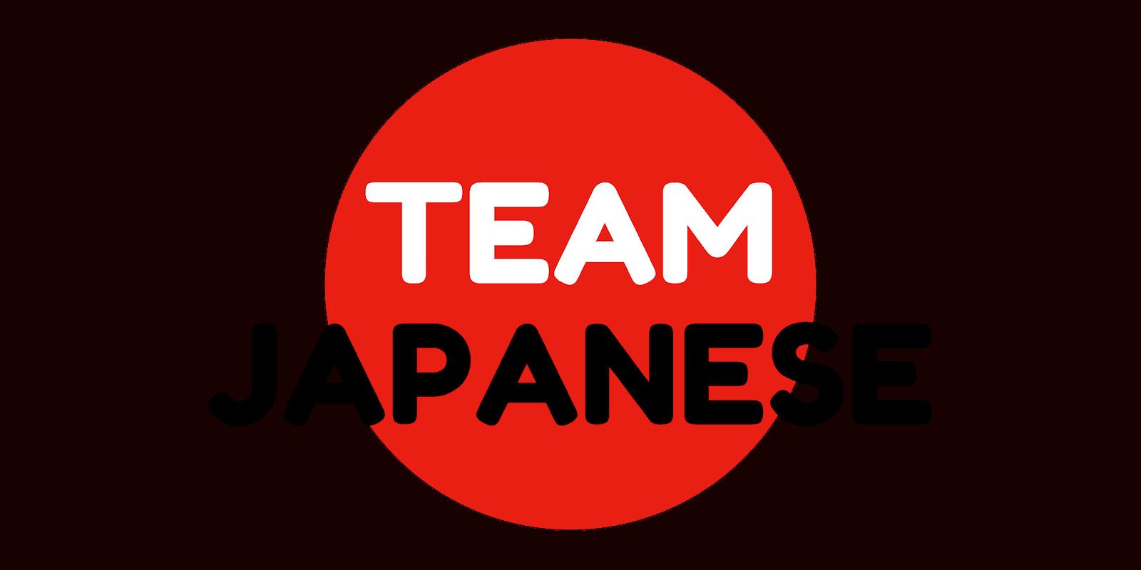 Team Japanese