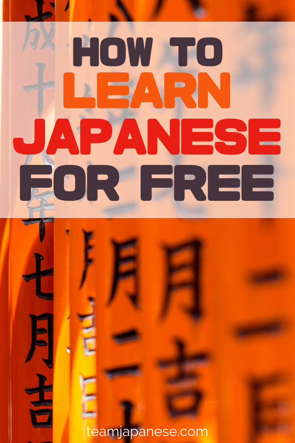 learn japanese online for free