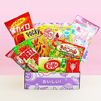 Japanese Subscription Boxes - japan candy box