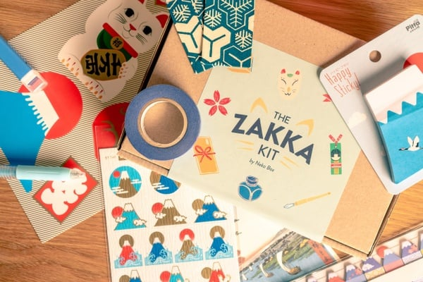 Japanese Subscription Boxes - zakka kit